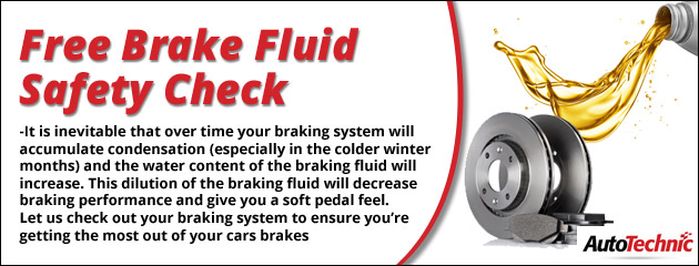 Free Brake Fluid Safety Check