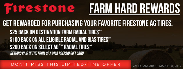 Firestone AG Tire Rebate