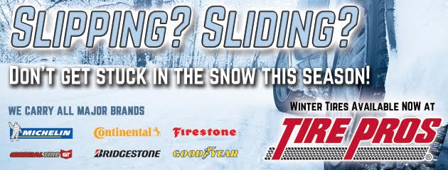 Tire Pros - Dont Get Stuck This Season