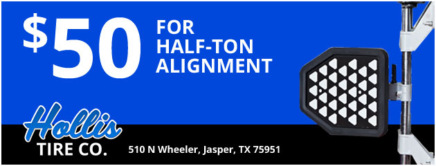 $50 Half Ton Alignment