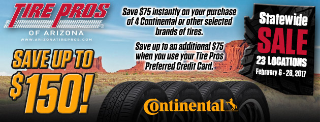 Tire Pros - Save Up To $150 On Selected Tires