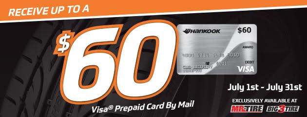 Hankook - Receive Up to a $60 Rebate