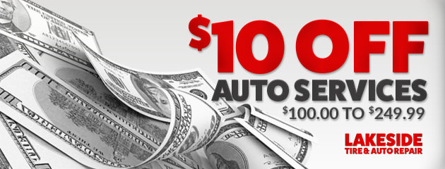 $10 Off Services $100 to $249.99