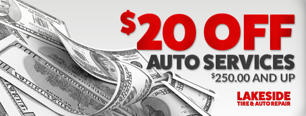 $20 Off Services $250 And Up