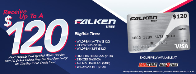 Falken - Get Up to a $120 Rebate