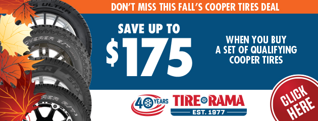 Save Up to $175 On a Set of Qualifying Tires