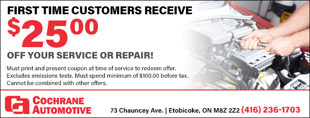 $25 Off Service And Repair