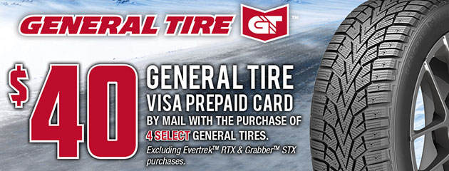 General Tire Canada - $40 Winter Promotion
