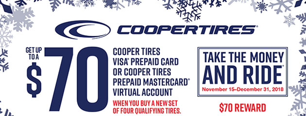 Cooper Tires - Winter Tires Reward