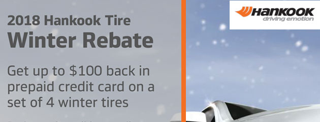 Hankook Canada - Winter Tire Rebate