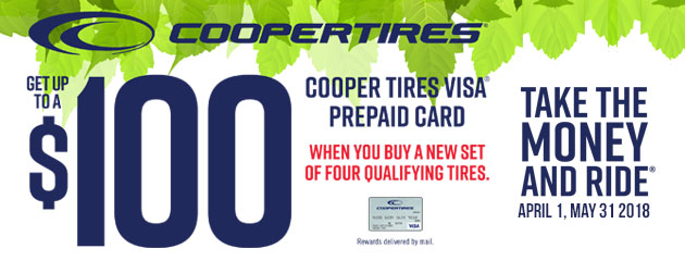 Cooper Canada - Up to $100 Reward