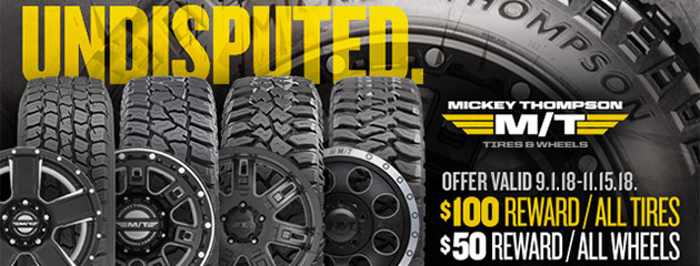 Mickey Thompson Canada - Fall Rebate