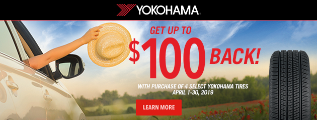 Yokohama - Get up to $100 Back