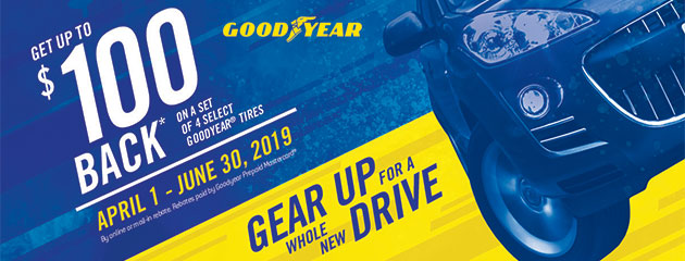 Tire Pros Goodyear - Up to $100 Back on Select Tires