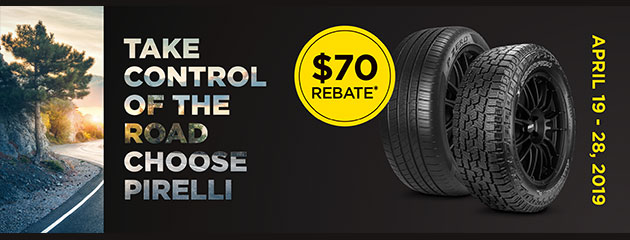 Pirelli - $70 Mail-in Rebate