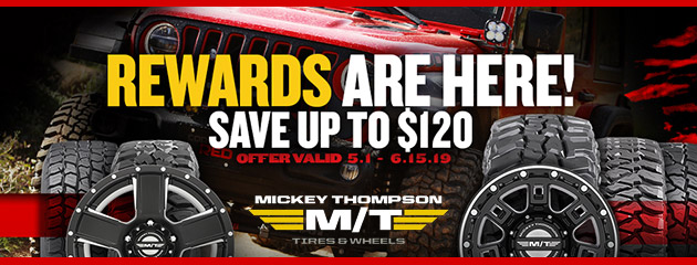 Mickey Thompson - Up to $120 Reward