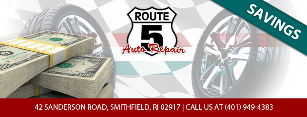 Route 5 Auto Repairs Savings