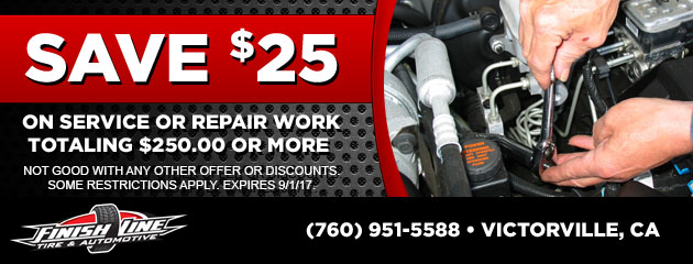 $25 off service of $250 or more