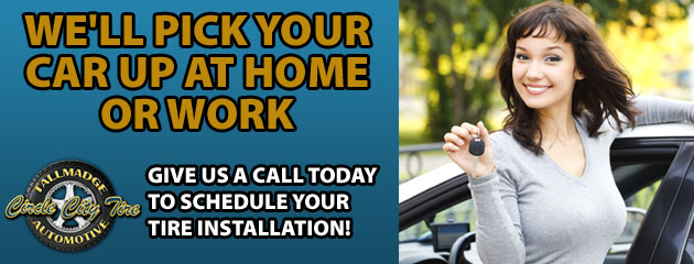 We'll pick your car up at home or work!