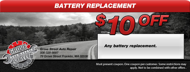 $10 Off Any Battery Replacement