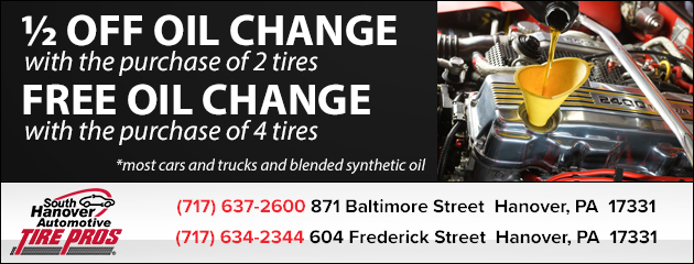 Hanover pa tires oil changes brakes south hanover for Cooper motors hanover pa