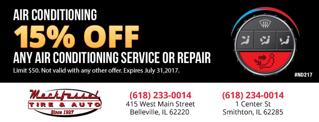 15% off any Air Conditioning Service or Repair