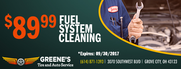 $89.99 Fuel System Cleaning