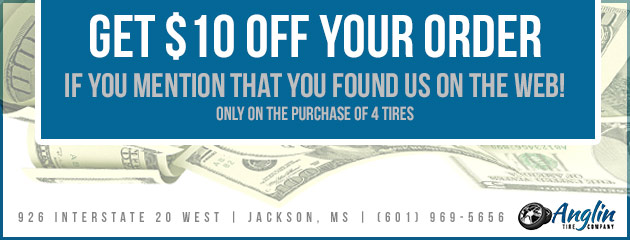 Get $10 off your order if you mention that you found us on the web!