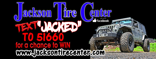 "Text ""jacked"" to 51660 for a Chance to WiN!"
