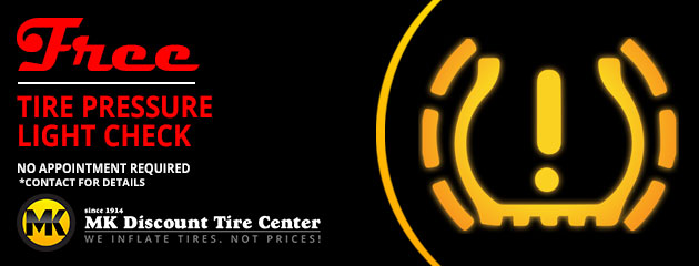 Free Tire Pressure Light Check
