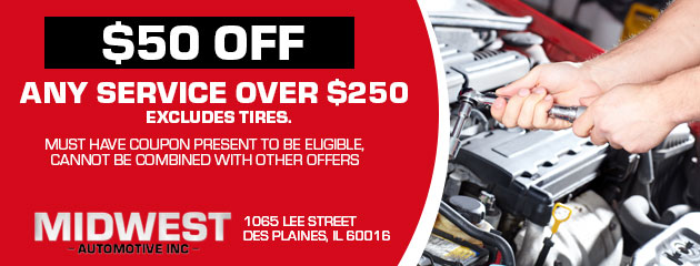 $50 Off Any Service Over $250