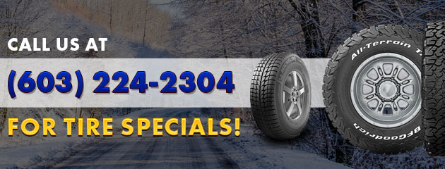 Call us for specials.