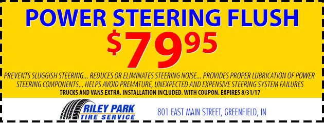 Power Steering Flush Special