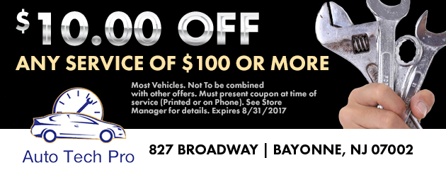 $10 off any service of $100 or more