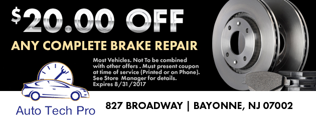$20 Off Any Complete Brake Repair