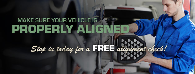 Make Sure Your Vehicle is Properly Aligned