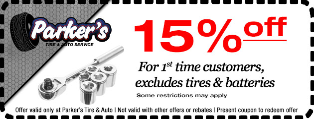 15% off for 1st Time Customers