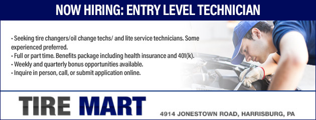 Now Hiring: Entry Level Technician