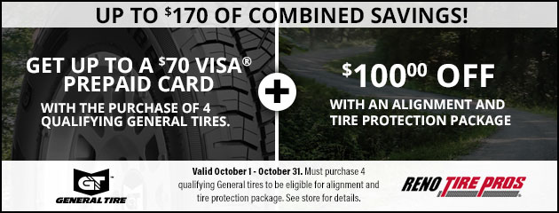 Up to $170 of Combined Savings!