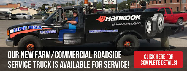 Our New Service Truck is Available for Service!