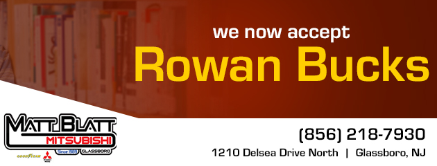We now Accept Rowan Bucks
