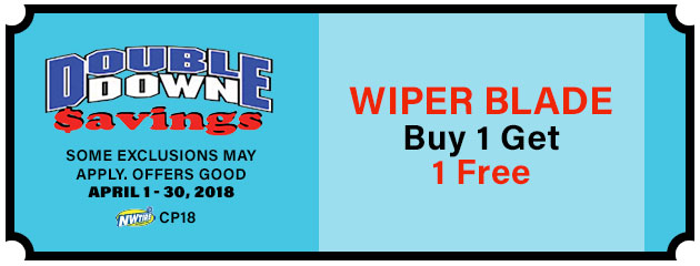 Double Down - Wiper Blade Special