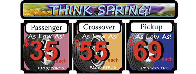 Think Spring Tire Deals