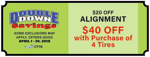Double Down - $20-$40 Off Alignment