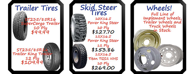 Tire and Wheel Specials