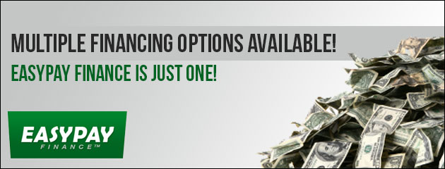 Multiple Financing options available!