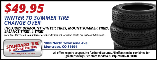 Winter to Summer Tire Change Over