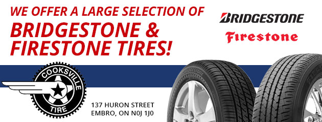 We offer a large selection of Bridgestone/Firestone Tires!