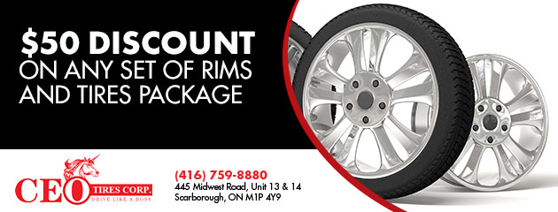 Rim & Tire Package
