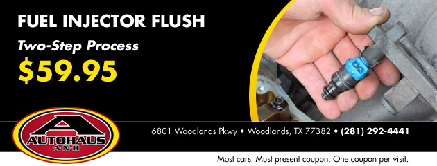 Fuel Injector Flush $59.95